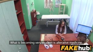 Image Em falso hospital cena de sexo com enfermeiro